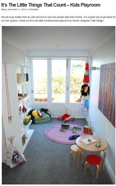 La Donna Moderna Tate Design Interior Design Feature
